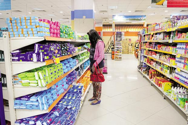 Procter and Gamble's Whisper and Johnson and Johnson's Stayfree brands dominate the Indian sanitary napkins market. Photo: Indranil Bhoumik/Mint