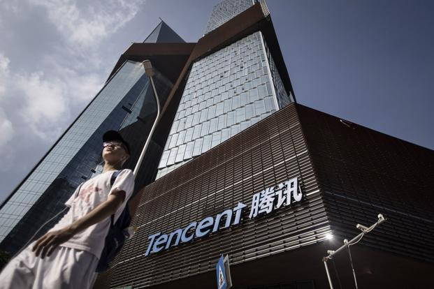 Tencent's revenue has been driven by games and in-app purchases. Photo: Bloomberg