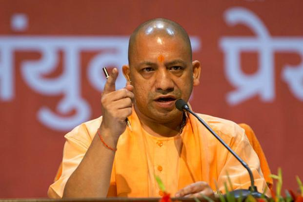 Uttar Pradesh chief minister Yogi Adityanath. File photo: AP