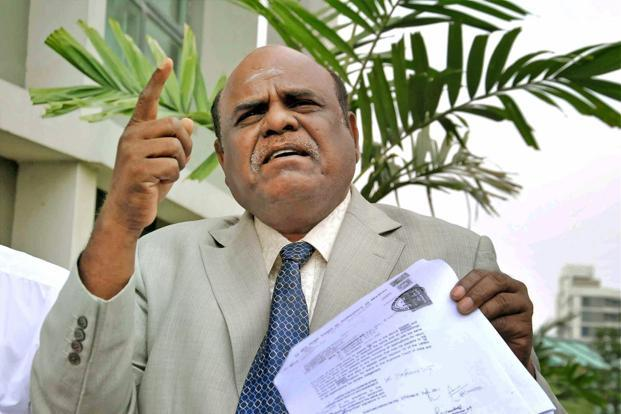 Calcutta high court judge C.S. Karnan has also moved a petition in the apex court seeking recall of the 9 May order but has been denied urgent hearing by the CJI. Photo: PTI