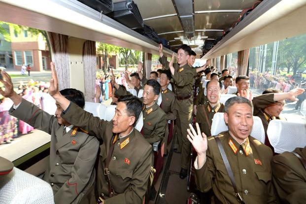 North Korea has carried out two atomic tests and dozens of missile launches since the beginning of last year. Photo: AFP