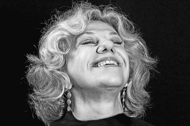 """In my youth, I read (Erica Jong's) book 'Parachutes And Kisses' for all the wrong reasons. When I shot her, it was in a room in my Goa home; I created a black backdrop. She has a manic laughter that I tried to capture."""