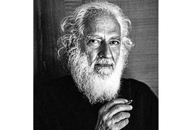 """When I got (Arvind Krishna Mehrotra) to wear a black turtle-neck with his white beard flowing… his sheer presence became most poetic. I've never seen a man look as elegant with a 'beedi' as he does."""