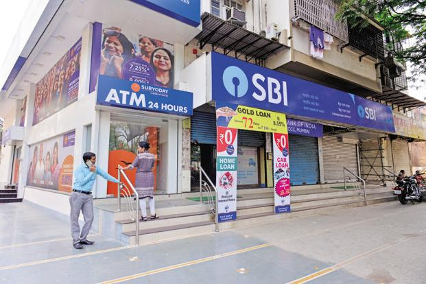SBI's market valuation rose by Rs 8,348.25 crore to Rs 2,49,905.25 crore. Photo: Mint