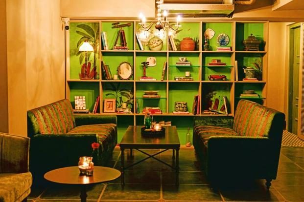 A lounge area at Slink & Bardot.
