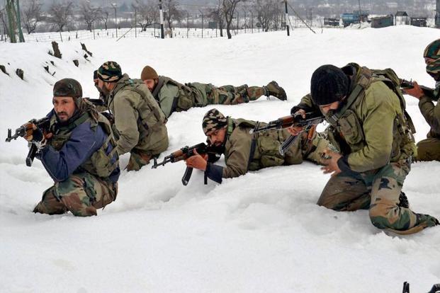 Kashmir: 4 militants killed, 3 jawans martyred in encounter at LoC in Naugam
