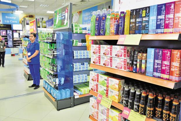 The GST rate for premium brands of consumer goods products such as shampoos and hair creams, chocolates, and instant coffee will be taxed at 28%. Photo: Priyanka Parashar/Mint