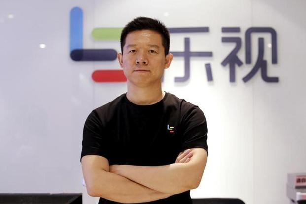 Liang Jun, who joined Leshi from Lenovo Group over five years ago, will replace Jia Yueting (above) as general manager. Photo: Jason Lee/Reuters.
