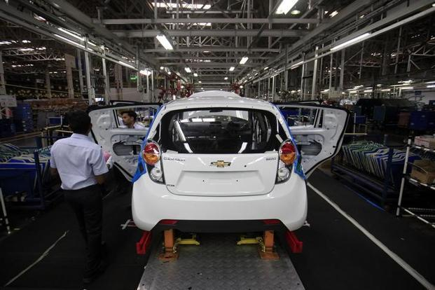 With  monthly average sales of less than 900 vehicles, General Motors (GM) has been a laggard in the Indian market. Photo: Bloomberg