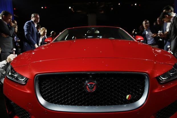 Jaguar XE sedan's diesel variant will enhance the portfolio of Jaguar XE sedan which has a 2 litre petrol engine version already on sale in India since January 2016.  Photo: Bloomberg