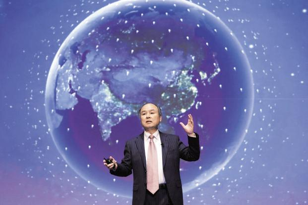 SoftBank boss Masayoshi Son. SoftBank Vision Fund has raised $93 billion as part of the $100 billion fund that was announced by the venture capital firm last year. Photo: Bloomberg