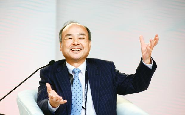 SoftBank chairman Masayoshi Son. Photo: Hemant Mishra/Mint