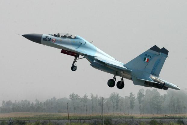 A File Photo The Last Reported Position Of Sukhoi 30 That Went Missing On