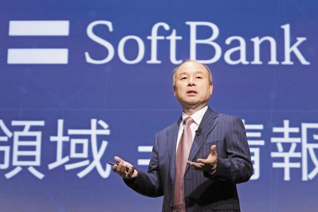SoftBank founder Masayoshi Son. Photo: Bloomberg