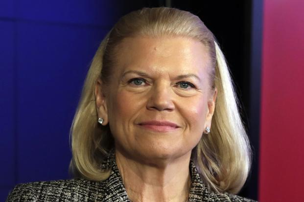 IBM's Virginia Rometty was the highest paid woman  CEO in 2016. Photo: AP