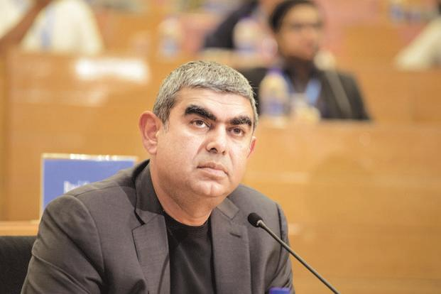 Infosys CEO Vishal Sikka's annual salary drops due to lower bonus payout
