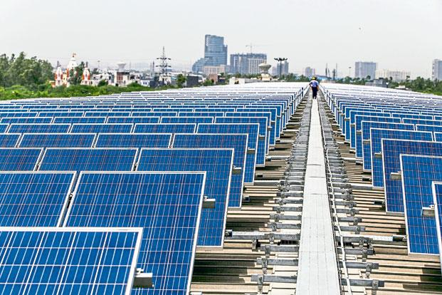 Clean and renewable energy generation has got a boost under the Narendra Modi government. Photo: Bloomberg