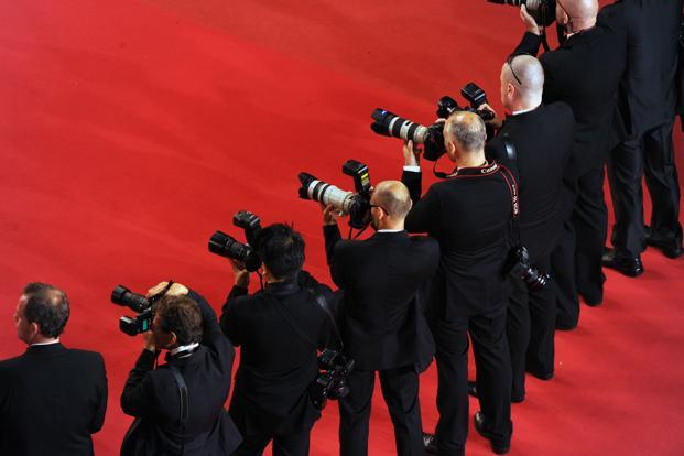 Photographers at the '70th Anniversary' ceremony of the Cannes Film Festival in Cannes, southern France. Photo: www.festival-cannes.com