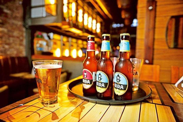 Bira 91 Light is priced at Rs100 for 330 ml bottle and will be made available in Delhi and NCR, Mumbai, Pune, Goa and Bangalore this quarter and other cities later in the year. Photo: Pradeep Gaur/Mint