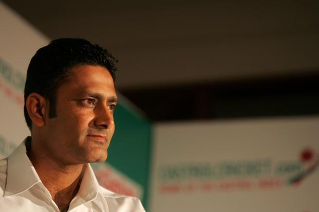 A file photo of Anil Kumble. Photo: Hindustan Times