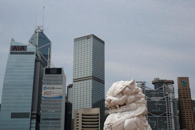 This is Hong Kong's first cut in ranking by Moody's since the throes of the Asian financial crisis 1998.  Photo: Reuters