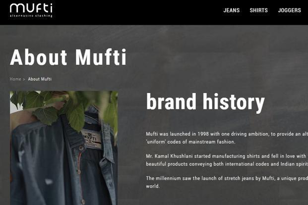 The Mufti denims brand is available at 110 large format stores, 1,400 multi-brand