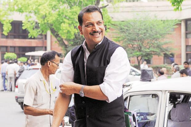 Skill development minister Rajiv Pratap Rudy says National Skills Development Corporation (NSDC) model has serious flaws which he is correcting. Photo: HT