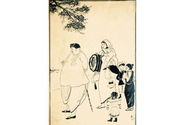 'Nuisance Of A Wife', lithograph circa 1917.