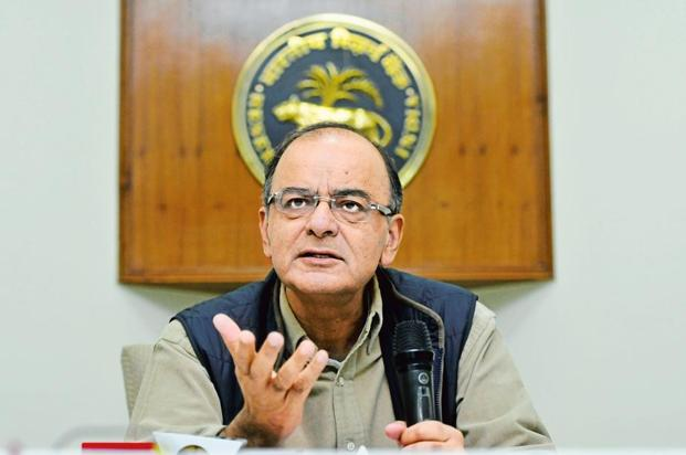 The scheduled meeting, that will be chaired by finance minister Arun Jaitley, will also discuss the current status of stressed assets and pending cases before the joint lenders' forum. Photo:Vipin Kumar/ HT