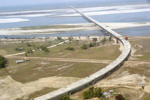 PM Modi inaugurated the Dhola-Sadia bridge on Friday. The bridge has strategic significance since it is near Anini, 100km from China border, and can withstand the weight of a 60-tonne battle tank. Photo: Wikimedia Commons