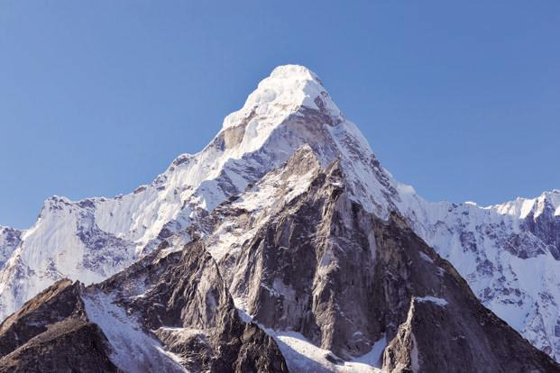 Hemant Gupta conquered Mount Everest today morning. Photo: iStock