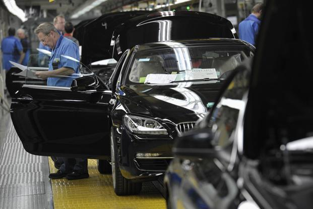 BMW's profitability dropped in the first quarter, as an aging production lineup led the company to offer incentives to accelerate sales. Photo: Bloomberg
