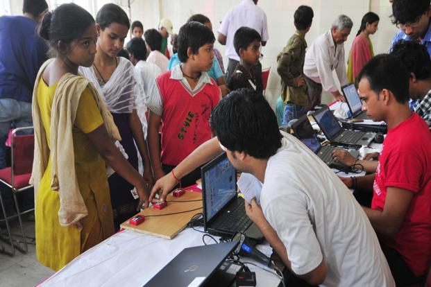 With over a billion Aadhaar numbers issued and demonetisation catapulting India into the digital economy, vast amounts of demographic data will be generated and used.  Photo: Ramesh Pathania/Mint