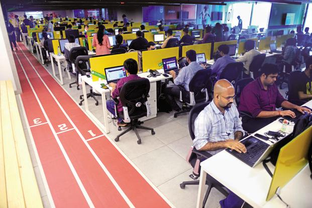 Sportz Interactive office in Mumbai. Photo: Abhijit Bhatlekar/Mint