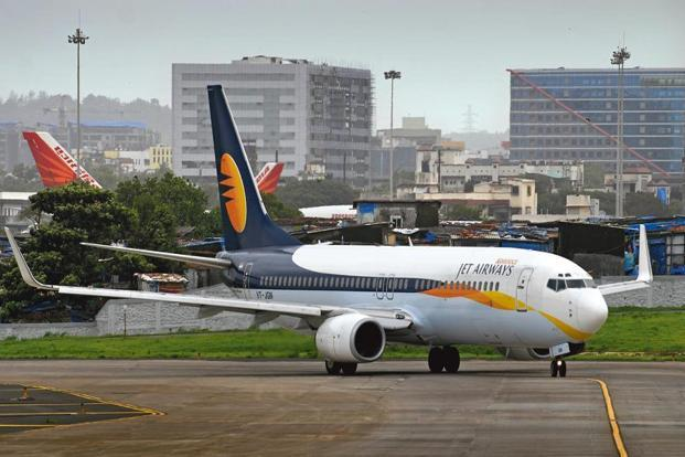 Jet Airways shares closed 3.12% lower on the BSE at Rs459.55 on Tuesday. Photo: Abhijit Bhatlekar/Mint