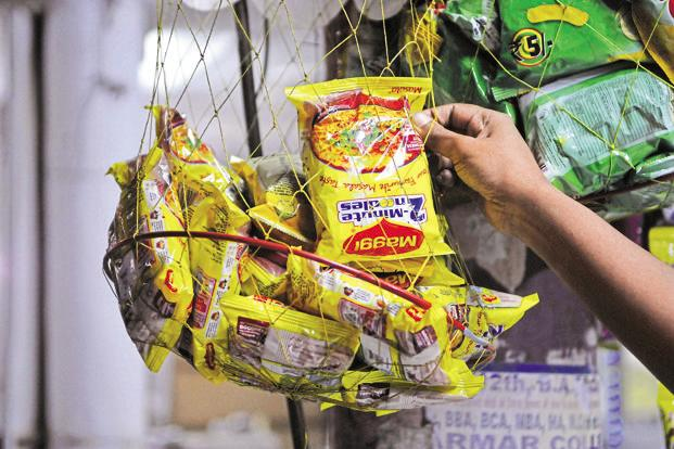 The new, fortified Maggi noodles will be available over the next few weeks across the 3.5 million retail outlets in India where Nestle products are sold. Photo: HT