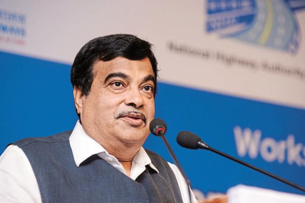A file photo of Nitin Gadkari, minister for Road Transport and Highways and Shipping. Photo: Bloomberg