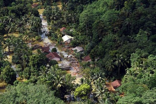 Battle to rescue stranded as Sri Lanka flooding toll tops 160
