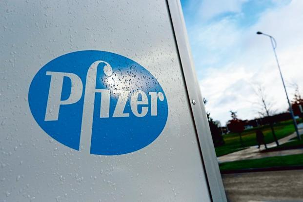Shares of Pfizer Ltd closed 3.07% up at Rs1,697.95 on BSE. Photo: Reuters