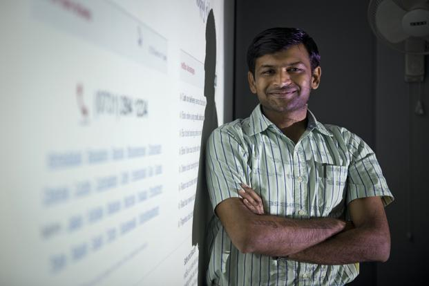 redBus founder Phanindra Sama. Photo: Aniruddha Chowdhury/Mint
