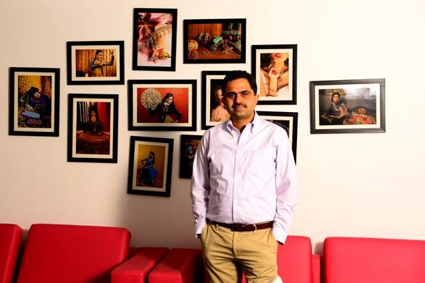 SVG Media founder Harish Bahl. Photo: Ramesh Pathania/Mint
