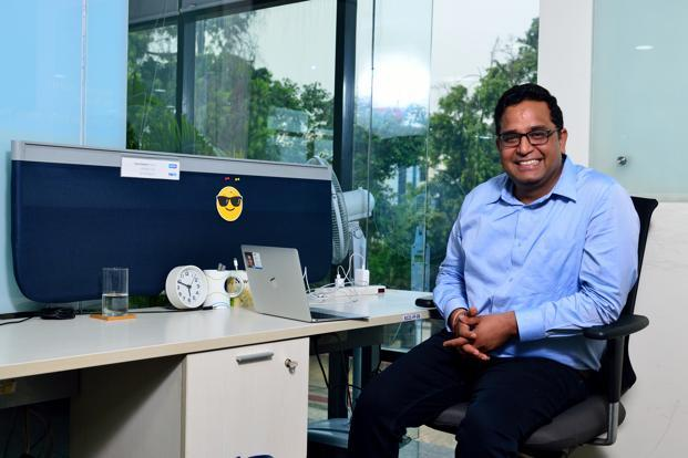 Paytm founder Vijay Shekhar Sharma. Photo: Pradeep Gaur/Mint