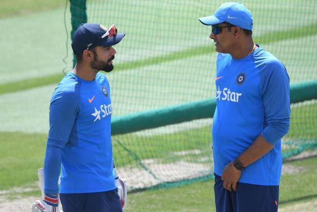 Newspapers have speculated that cracks in the Kohli-Kumble relationship prompted the BCCI to hunt for a new coach. Photo: AFP