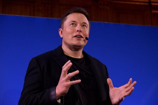 Tesla CEO Elon Musk. Wall Street now values Tesla at about $55 billion, compared to around $50 billion for General Motors. Photo: AFP