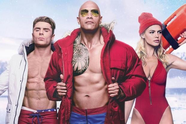 A still from 'Baywatch'