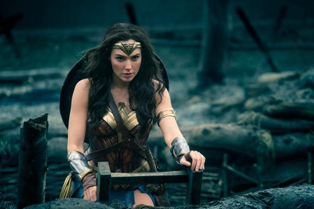 Gal Gadot in a still from 'Wonder Woman'.