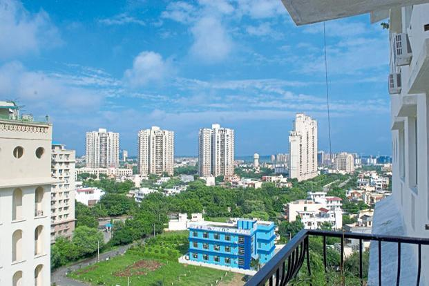 DLF's key problem is its over exposure to a single market—Gurugram—where sluggish sales have led to a huge pile of unsold residential units. Photo:  Ramesh Pathania/Mint