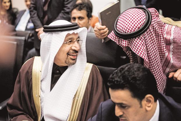 Saudi Arabia's energy minister Khalid Al-Falih. By agreeing to an unexciting extension of cuts on 25 May, the Opec is merely tinkering. Photo: Bloomberg
