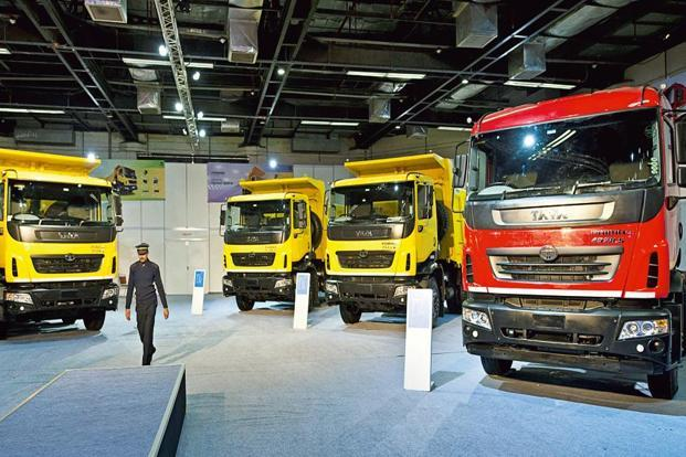 In 2016-17, Tata Motors' share of the medium and heavy duty commercial vehicles (MHCV) segment, including buses, fell to 49.2% from 51.9% a year ago, as per the Society of Indian Automobile Manufacturers (Siam). Photo: AFP
