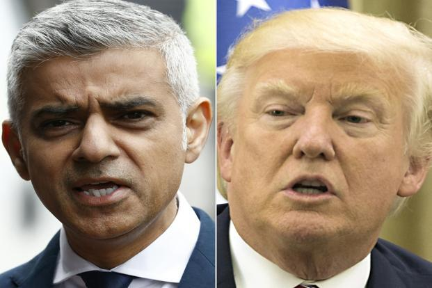 Calls for Trump state visit to be cancelled after London attack tweets